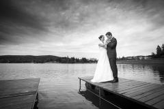Svatba u Jablonecké přehrady