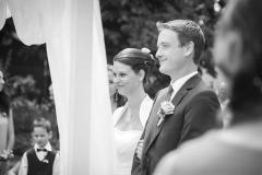 Pája s Tomem při svatebním obřadu