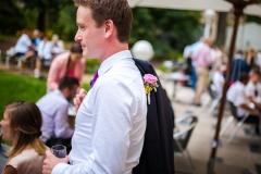 Tomáš na svatbě